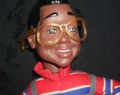 Vintage Steve Urkel Doll