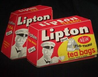 VINTAGE LIPTON TEA ADVERTISING SEWING KIT