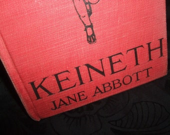 1918 Keineth Hard Cover Book