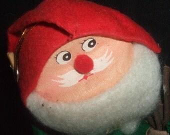 Vintage Santa Elf Doll