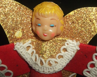 Small Vintage Christmas Angel