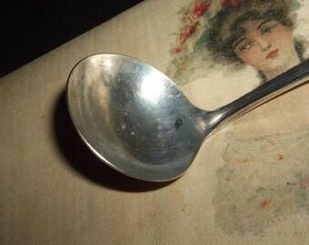 Antique Rogers Miniature Silver Ladle