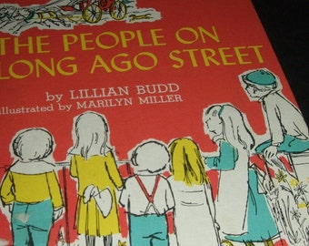 1967 People on Long Ago Street Book