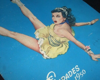 1950's Ice Capades Program