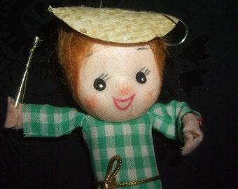 Vintage Baton Girl Doll