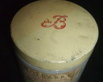 Vintage Du Barry Skin Cream Jar
