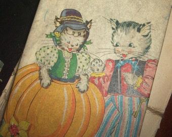 Vintage Peter Pumpkin Eater Puzzle