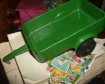 Vintage Metal Toy Wagon
