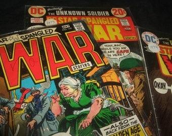 1970's Star Spangled War Comic Books