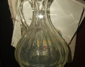 Antique Glass Vinegar Cruet