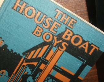 1912 House Boat Boys Book