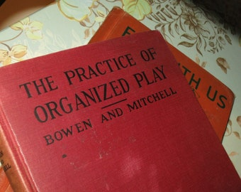 1929 Practice of Organized Play Book