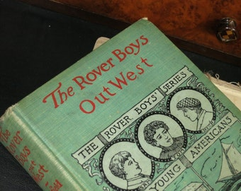1900 Rover Boys Out West Book