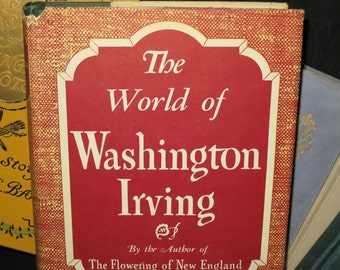 1944 Washington Irving Book