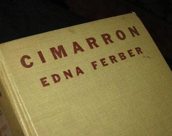 1930 Edna Ferber's Cimarron Book