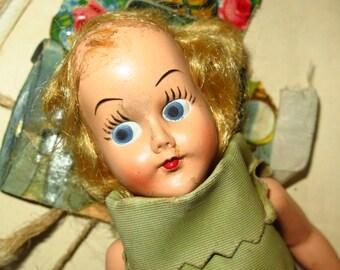 Vintage Hanky Doll