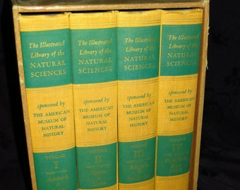 1958 Natural Science Library Books