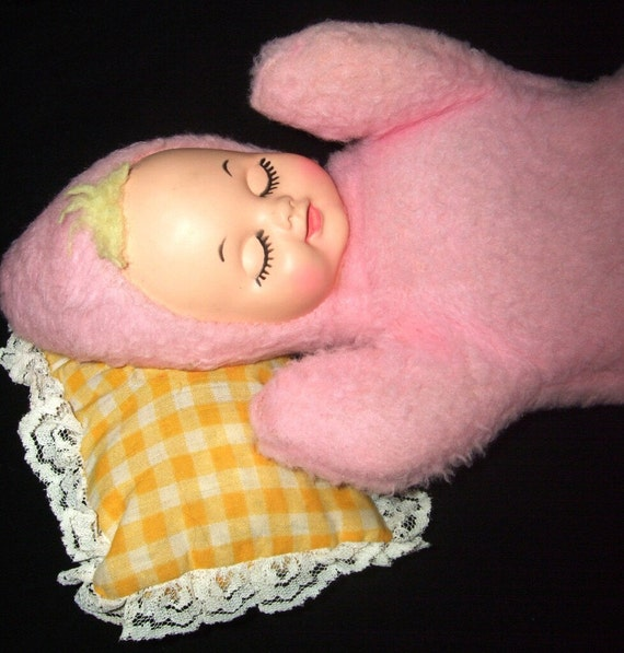 Vintage Sleeping Bantam Musical Baby Doll