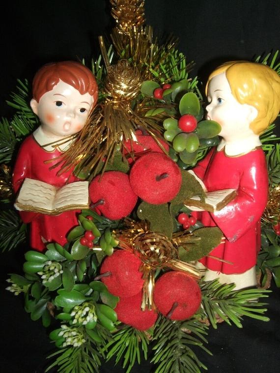 VINTAGE CHOIR BOY CHRISTMAS DECORATION