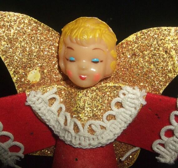 Small Vintage Christmas Angel