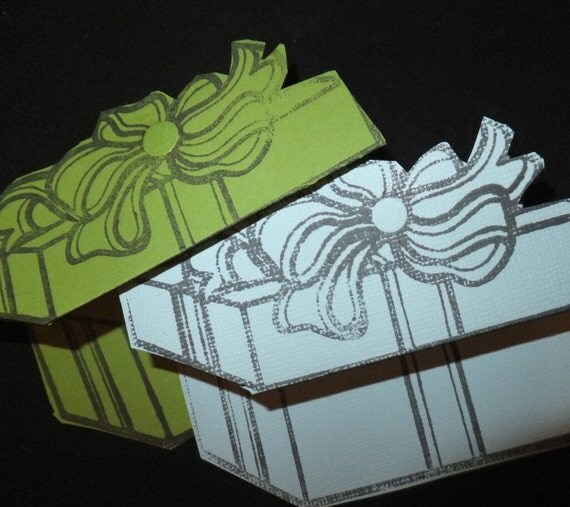 Hand Made Box Gift Tags
