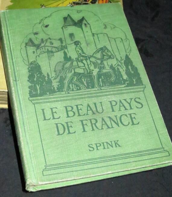 1922 Le Beau Pays De France Book