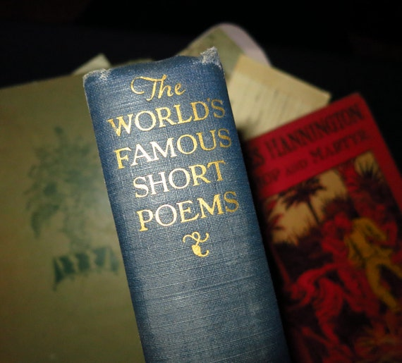 1927 World's Famous Short Poems Book