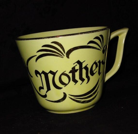 Vintage Mother Cup