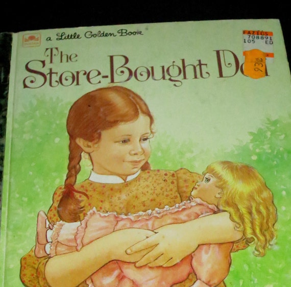 1983 Store Bought Doll Golden Book
