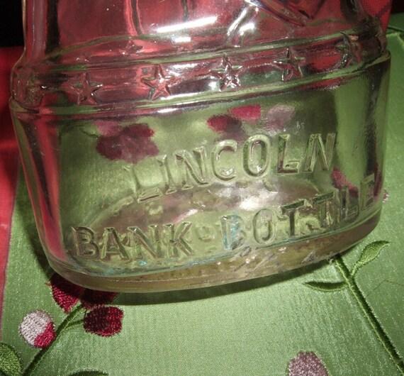 OLD LINCOLN BANK BOTTLE
