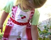 Strawberry Cherry Smoothie Apron