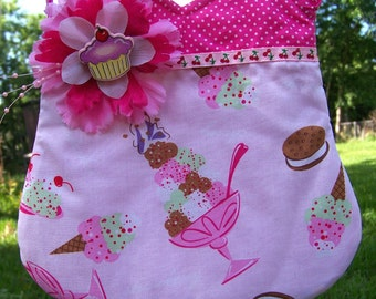 I Love Ice Cream Purse