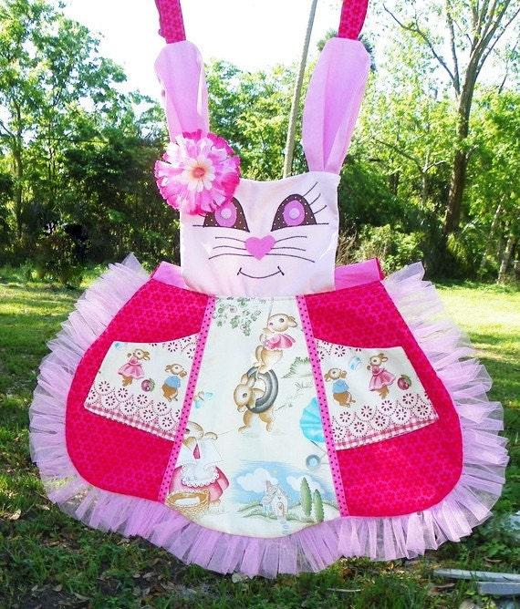 Bunny Delight apron