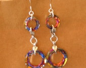 sale COSMIC SWAROVSKI CRYSTAL EARRINGS sale