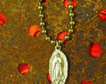 Virgin of Guadalupe Milagro Necklace