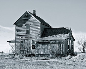 Abandoned House, Rt. 165, McLean County, Illinois
