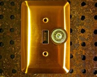copper switch plate