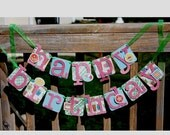 Custom Birthday Banner - Made to Order Party Decoration