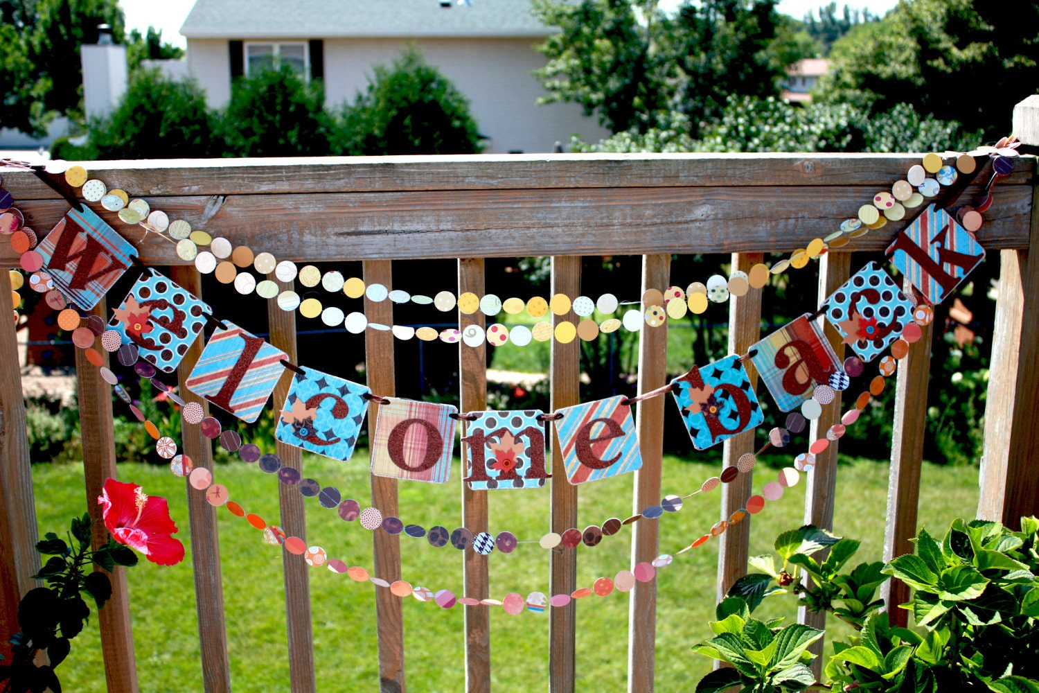 Welcome back banner glitter sign party decoration for Sign decoration