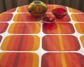 Table Cloth in Sunrise Red - 180 x 140cm - Price reduced