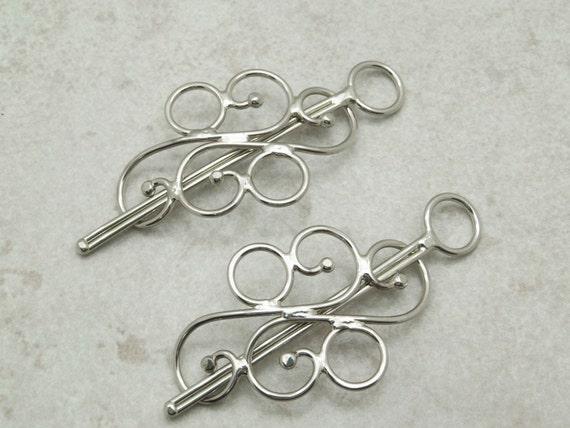 Two Mini Hair Barrettes