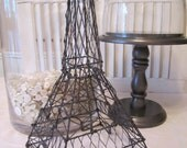 Black Wire Eiffel Tower for Display