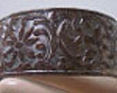 Vintage Floral Cuff Bracelet Blank