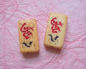 Bone Mahjong Tiles