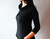 new colors / bamboo french terry pocketed turtleneck dress / made to order / by replicca / size S to XL / your choice of colour