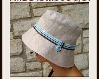 Hat pattern fit headsize 22 to 22.5 inch - pink spot hat pattern