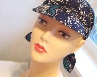 E-pattern bandana scarf hat pattern PDF