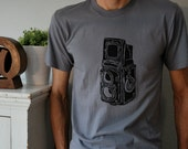 Rolieflex Film Camera Tshirt for Men