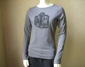 Brownie Camera Long Sleeve Shirt for Women