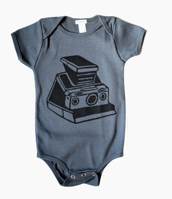SX-70 Film  Camera Onesie for Baby